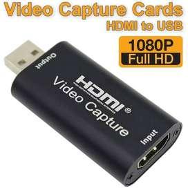 Video Capture HDMI to USB Support Full HD 1080p HDMI Perekam Capture