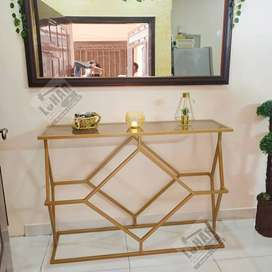 Iron Console Table / Dressing Tables
