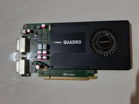 NVIDIA QUADRO K2000D graphics card