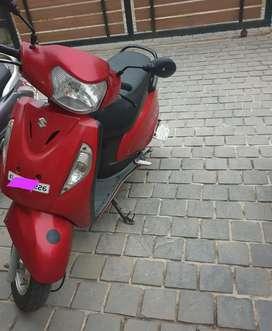 Neat access skuter