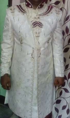 Sherwani (only one time use)
