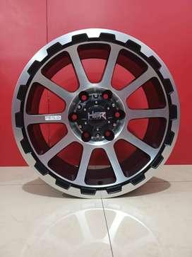 Velg Mobil Pajero Fortuner Hailux HSR SIDRAP 2047 HSR R17X8 H6X139,7 E