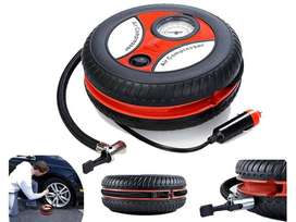Online Wholesales 260PSI Car Tyre Pump, 12V Travel Portable Digital DC