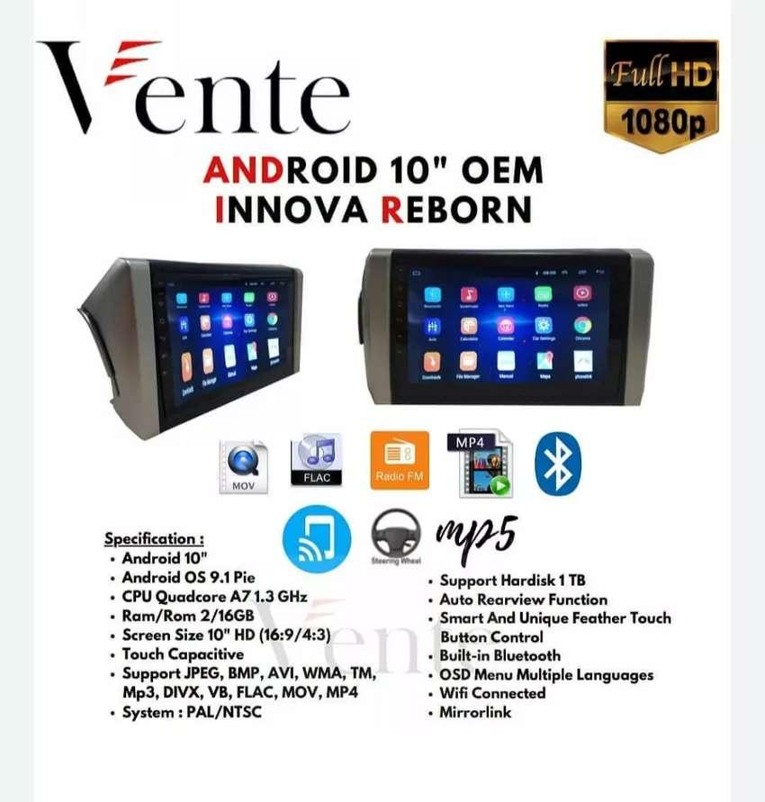 Headunit Android VENTE OEM All New Innova Reborn 0