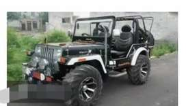 Mahindra willy modified jeep