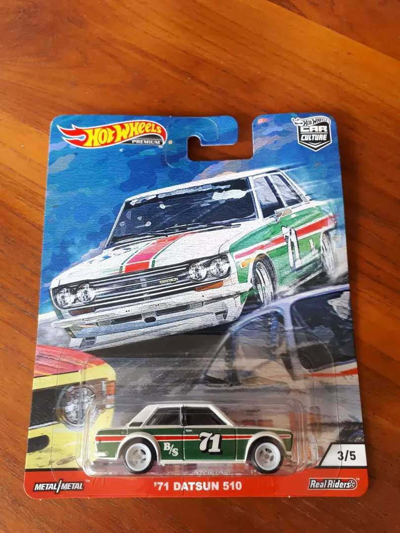 Hot Wheels  CAR CULTURE DOOR SLAMMERS 71 Datsun 510 0