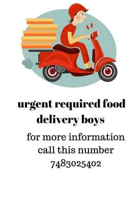 Delivery boys for swiggy