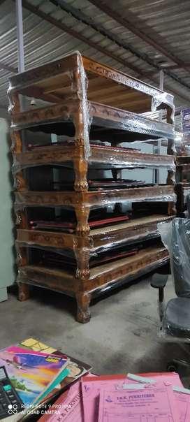 Yrk Brand new Sal wood Diwan cot. 3x6