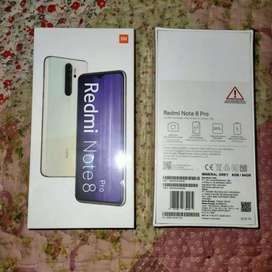 Redmi note 8 pro ram 6/64 new harga termurah
