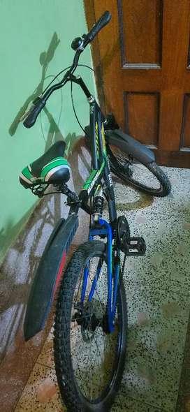Tata stryder mtb, double shock absorber, disc brake