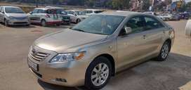 Camry car golden color with a good conditions power system