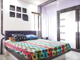 2bhk Balcony flat with 850sqft Carpet Prestige Residency Waghbil Thane