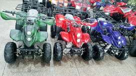 Color full verity of KIDS QUAD ATV Bike 4 wheeler for sell deliver Pak