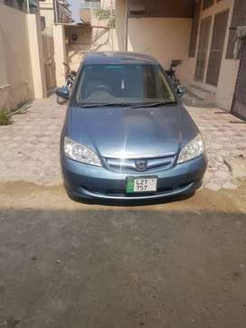 Aa honda civic 2005 beautifull condition alley rim ac Genion condition