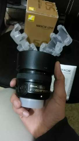 Nikon 50mm 1.8G in Good Condition