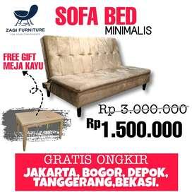 SOFA BED MINIMALIS MUAH