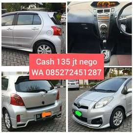 Yaris S limited Matic 2013 Cash Nego