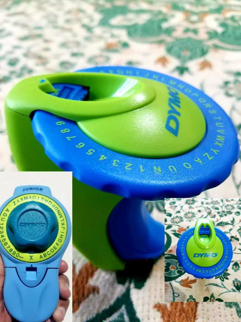 Easy Label Machine Green & Blue 0
