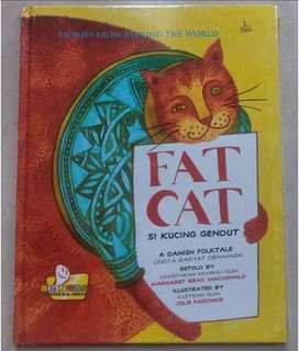 Buku cerita anak si kucing gendut/fat cat- Segel