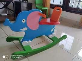 Kuda kudaan (model gajah)