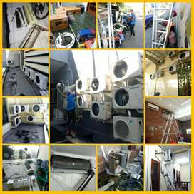 Jasa Cuci AC / Bongkar pasang AC / Perawatan AC / Service AC