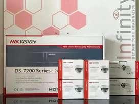 Paket CCTV online 16 Ch HIKVISION 1080p real 2 Magepixel