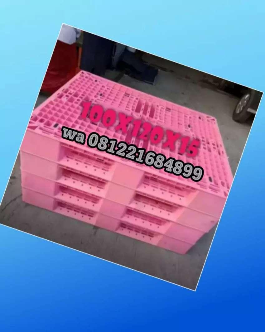 Supplier pallet plastik baru dan bekas termurah 0
