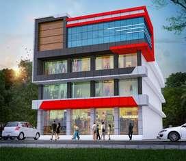Commercial Building at Kottayam, Kumaranalloor MC Road