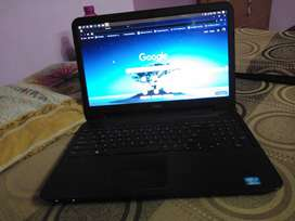 Dell laptop with 8GB ram and 128 GB SSD and 500 GB HDD and 3rd gen i3