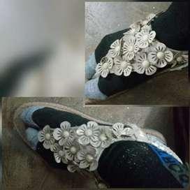 New sandal and dress