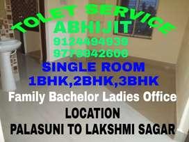 1RK,1Bhk,2Bhk,3Bhk House Available Near Palasuni To Kalpana Near Area