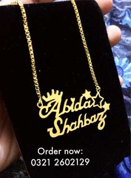 Custome name necklaces