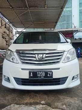 Toyota Alphard G A/T Tahun 2012 Macan Unit Sangat Istimewa