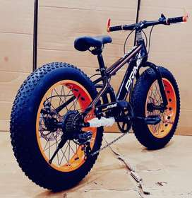 IMPORTED 7 GEAR FAT TYRE CYCLE ( OFFERS AVAILABLE)