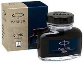 Parker Quink/Tnta 57ml Black/Hitam