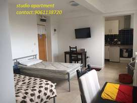 1bhk furnished likes AC,TV,WASHING MACHINE,etc.luxury studio apartment