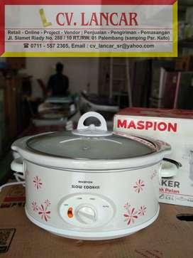 Slow Cooker MASPION 3,5L (GRATIS Ongkir bayar dirumah)