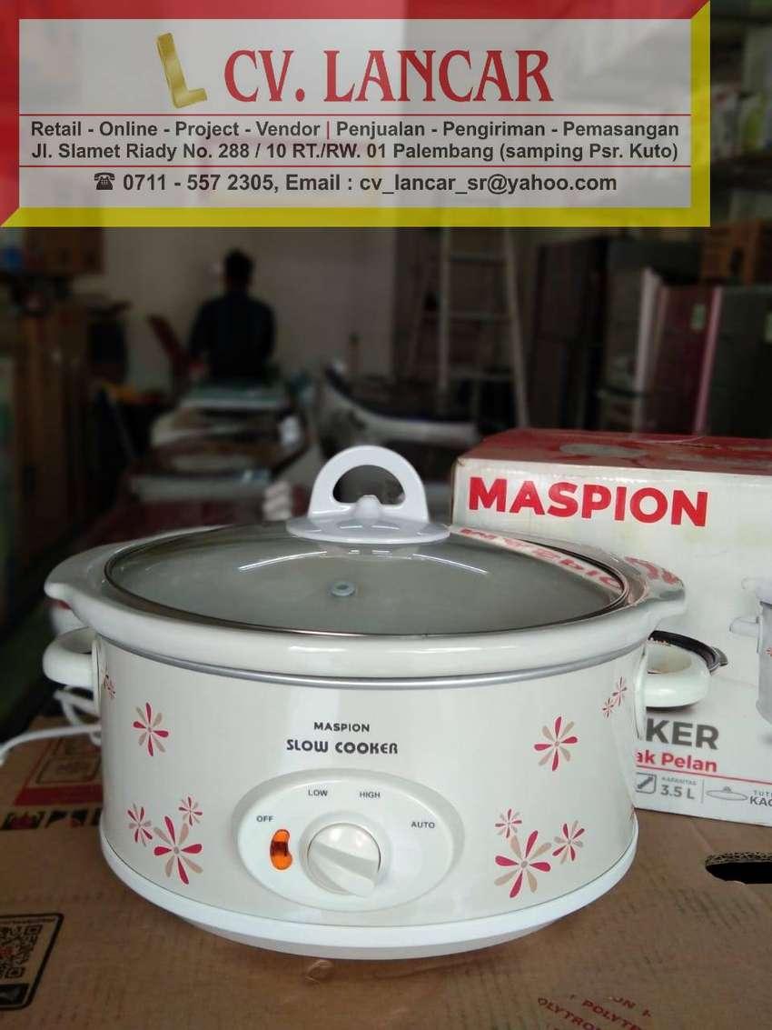 Slow Cooker MASPION 3,5L (GRATIS Ongkir bayar dirumah) 0