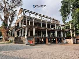Dijual Gedung Hook 2 Muka 4 Lt di Jombor, Akses Dekat Jl Magelang Km 6