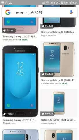 Samsung galaxy j2 2018 vesion.
