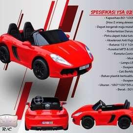 Mainan Anak Mobil Aki Yukita YSA-021 12V (bisa muat 2 orang dewasa)