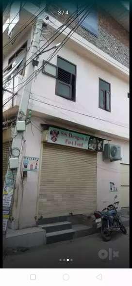 Do galli shop for sale double story shop hai