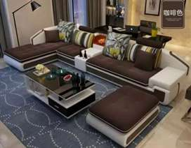 Sofa Letter U Modern