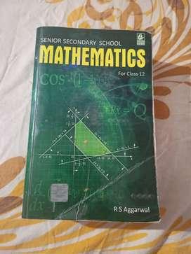RS Agarwal Mathematics class 12