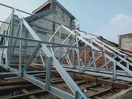 Menerima pemasangan rangka rumah baja ringan
