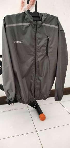 jaket sepeda shimano pria/wanita bisa cod