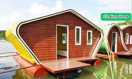 New Custom Made Floating House - House Boat - Boat house - houseboat