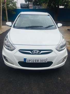 Hyundai Verna Fluidic 1.4 CRDi, 2012, Diesel