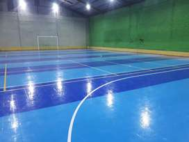 Spesialist lapangan futsal interlock dan vinil service dll juga oke