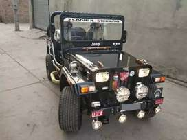 Willy black modified jeep